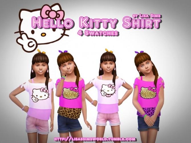 Kitty Shirt at Lisa Sims image 3623 670x503 Sims 4 Updates