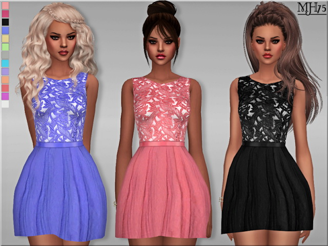 Sims 4 True Decadence Dress by Margeh75 at Sims Addictions