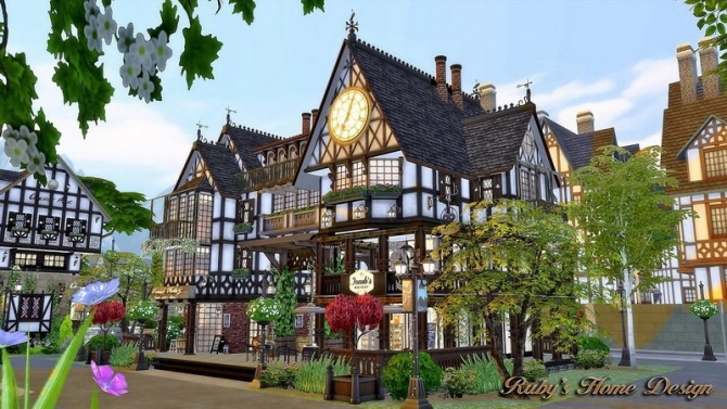 Jacobs Bakery & Pizzeria at Ruby's Home Design image 3791 670x377 Sims 4 Updates