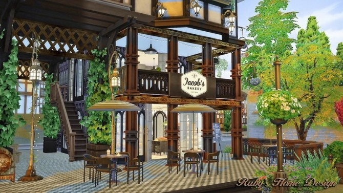 Jacobs Bakery & Pizzeria at Ruby's Home Design image 3824 670x377 Sims 4 Updates