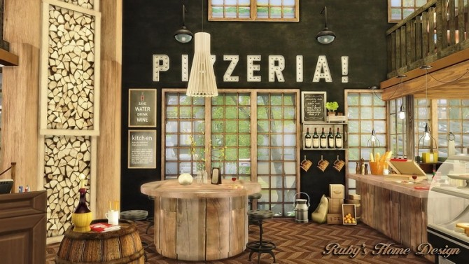 Jacobs Bakery & Pizzeria at Ruby's Home Design image 3831 670x377 Sims 4 Updates