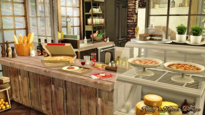 Jacobs Bakery & Pizzeria at Ruby's Home Design image 3841 670x377 Sims 4 Updates