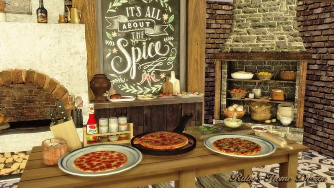 Jacobs Bakery & Pizzeria at Ruby's Home Design image 3851 670x377 Sims 4 Updates