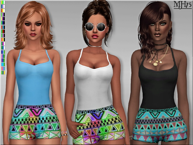 S4 Summer Fashion Jumpsuit by Margeh75 at Sims Addictions image 39 Sims 4 Updates