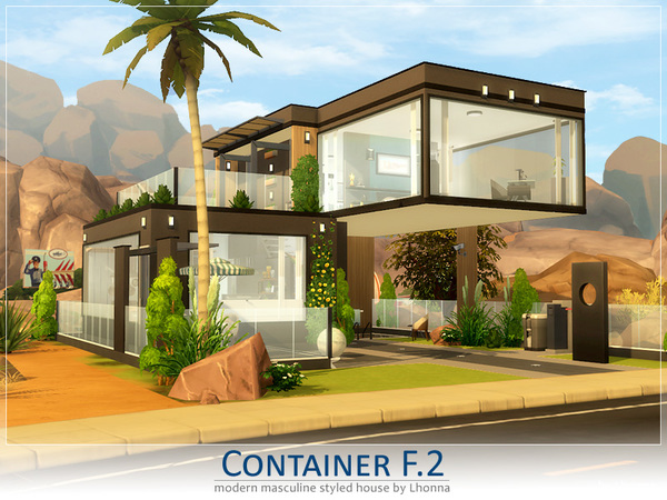 Container F.2 by Lhonna at TSR image 4318 Sims 4 Updates
