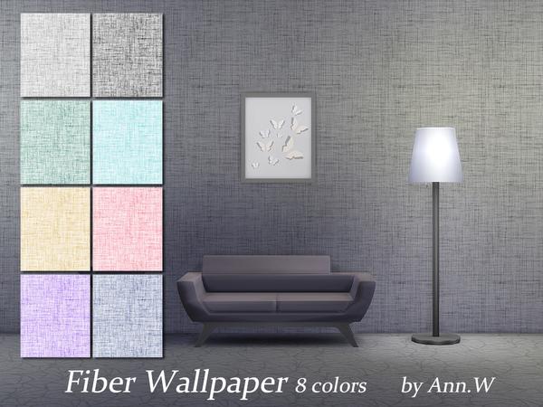 Fiber Wallpaper by annwang923 at TSR image 4412 Sims 4 Updates