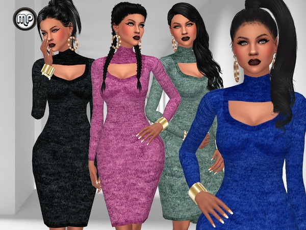 MP Special Date dress at BTB Sims – MartyP image 4817 Sims 4 Updates