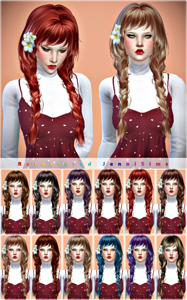 Newsea May Sun Hair retexture at Jenni Sims image 49 623x1000 Sims 4 Updates