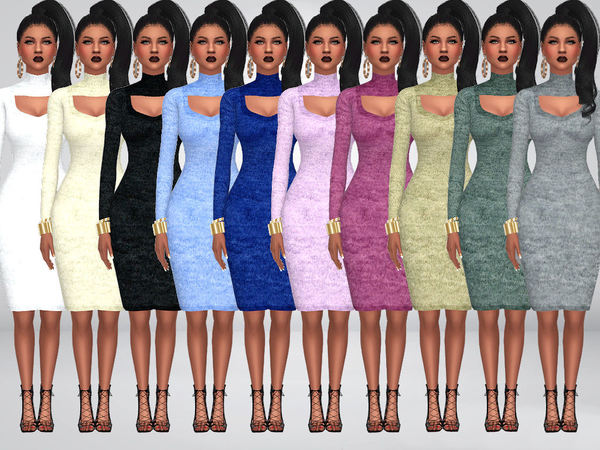 MP Special Date dress at BTB Sims – MartyP image 4917 Sims 4 Updates
