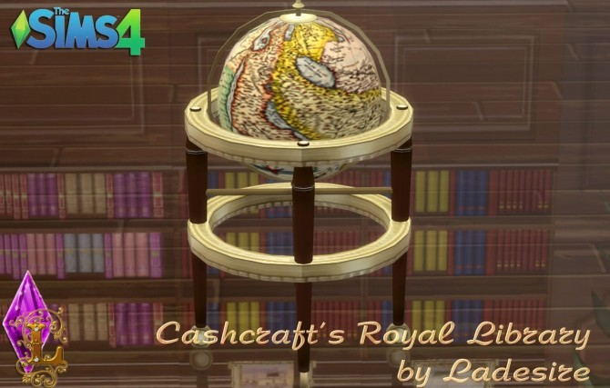 Cashcrafts Royal Library at Ladesire image 492 670x427 Sims 4 Updates
