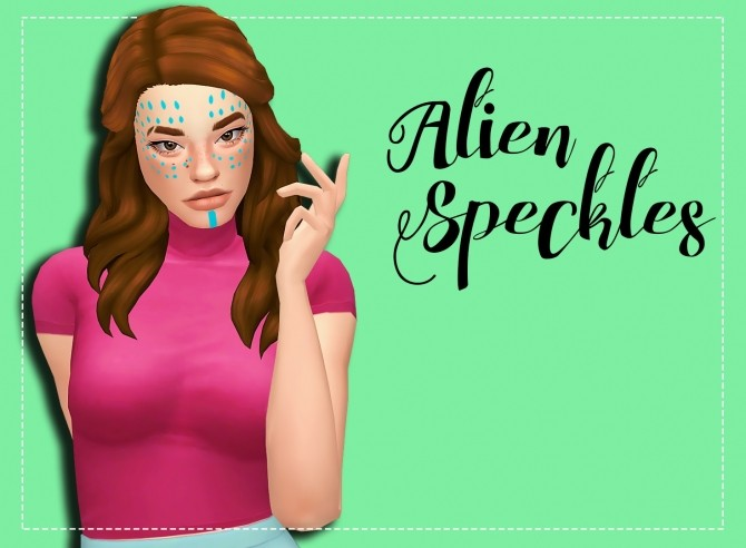Sims 4 Alien Speckles Recolor by Weepingsimmer at SimsWorkshop