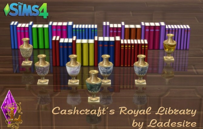 Cashcrafts Royal Library at Ladesire image 5211 670x427 Sims 4 Updates