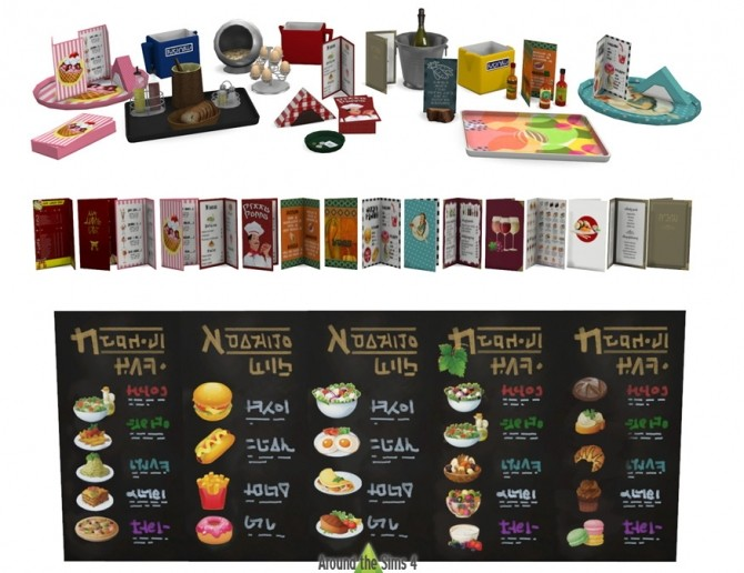 Sims  Restaurant Kitchen Decor