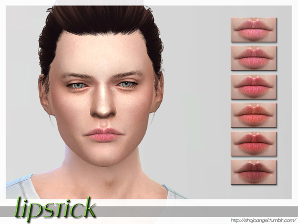 Sims 4 Lips Set 28 by ShojoAngel at TSR