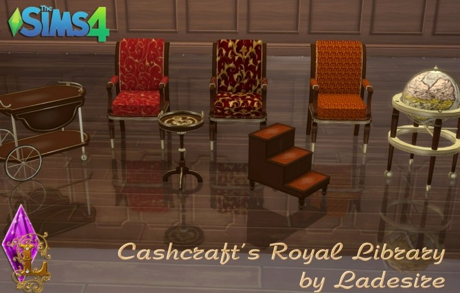 Cashcrafts Royal Library at Ladesire image 5311 670x427 Sims 4 Updates