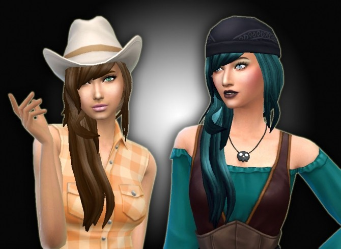 Cool Sims Hair 40 Conversion at My Stuff image 539 670x489 Sims 4 Updates