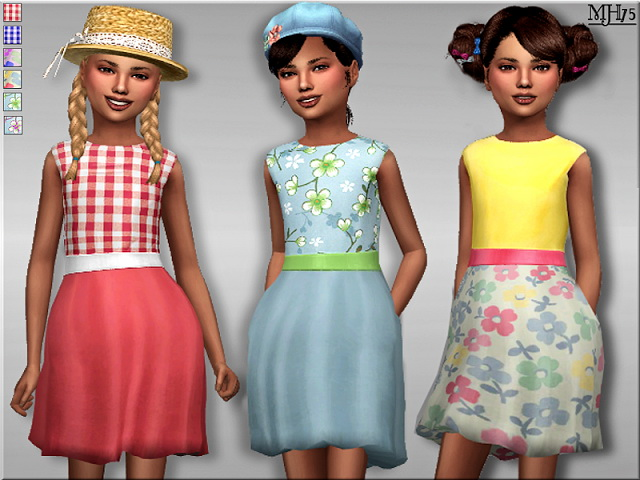 Sims 4 Sweet Summer Dress by Margeh75 at Sims Addictions