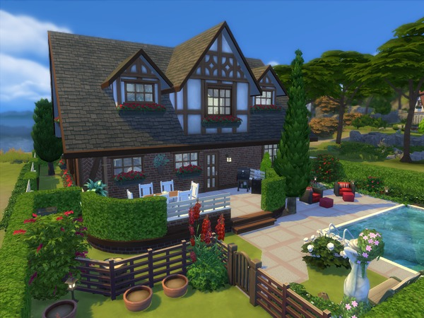 Sims 4 The Hepburn house by sharon337 at TSR