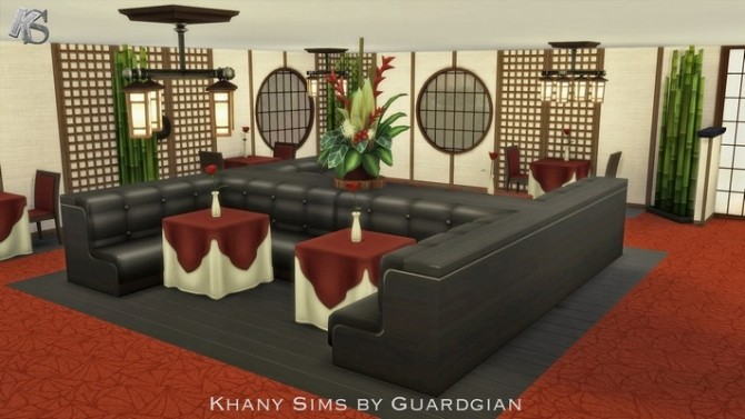 Spoon Jade Restaurant by Guardgian at Khany Sims image 55111 670x377 Sims 4 Updates