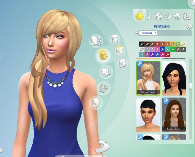 Cool Sims Hair 40 Conversion at My Stuff image 559 670x540 Sims 4 Updates