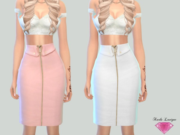 Fanny Skirt by Karla Lavigne at TSR image 562 Sims 4 Updates