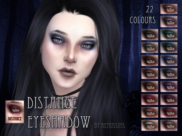 Distance Eyeshadow by RemusSirion at TSR image 603 Sims 4 Updates