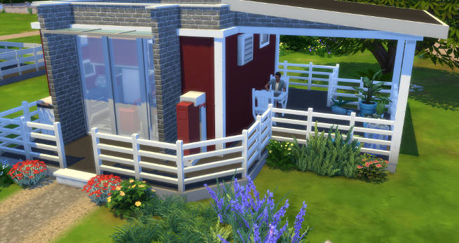 Mini Single Starter by SimsAtelier at Blacky's Sims Zoo image 605 Sims 4 Updates