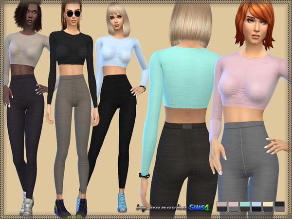 Sims 4 Clothes Two Colors at Bukovka