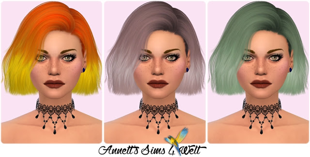 Nightcrawler Hair Confetti Recolors at Annett's Sims 4 Welt image 62 Sims 4 Updates