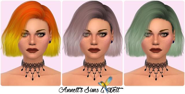 Sims 4 Nightcrawler Hair Confetti Recolors at Annett's Sims 4 Welt