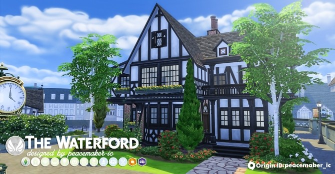 The Waterford house at Simsational Designs image 6220 670x349 Sims 4 Updates