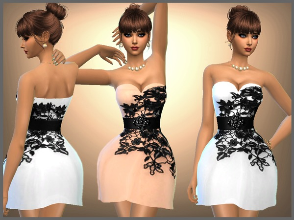 Sarah Dress by SweetDreamsZzzzz at TSR image 6317 Sims 4 Updates