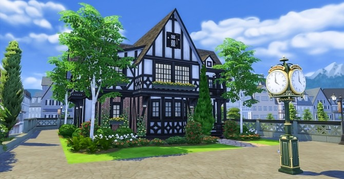 The Waterford house at Simsational Designs image 6319 670x349 Sims 4 Updates