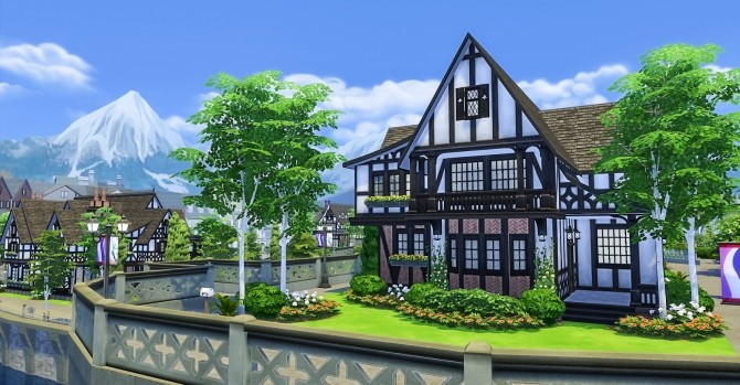 The Waterford house at Simsational Designs image 6418 670x349 Sims 4 Updates