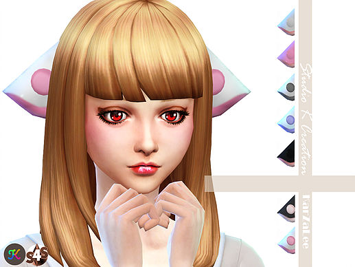 Sims 4 Anime Characters Mod : Chobits ears at studio k creation sims updates