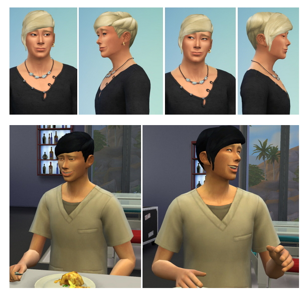 Sims 4 Long Bangs Man at Birksches Sims Blog