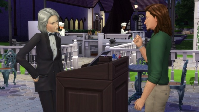 Sims 4 Corys Place restaurant by Monster without name at Mod The Sims