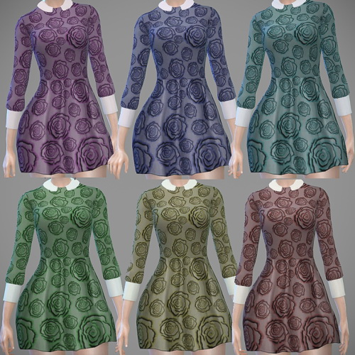 Rosie Dress by Sirena at Ladesire image 681 Sims 4 Updates