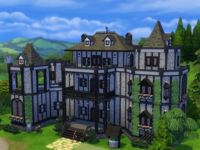 Vampire Castle No Cc At Tatyana Name 187 Sims 4 Updates