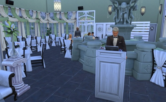 Romantic restaurant by Ilona at My little The Sims 3 World image 6911 670x411 Sims 4 Updates