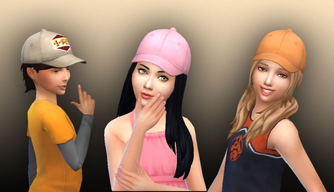 Baseball Hat For Kids At My Stuff 187 Sims 4 Updates