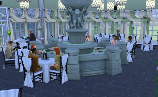 Romantic restaurant by Ilona at My little The Sims 3 World image 7012 670x411 Sims 4 Updates
