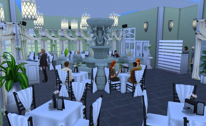Romantic restaurant by Ilona at My little The Sims 3 World image 7116 670x411 Sims 4 Updates
