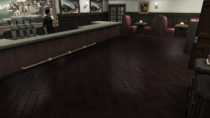 Sims 4 Hedmans Hideaway Restaurant by Monster without name at Mod The Sims