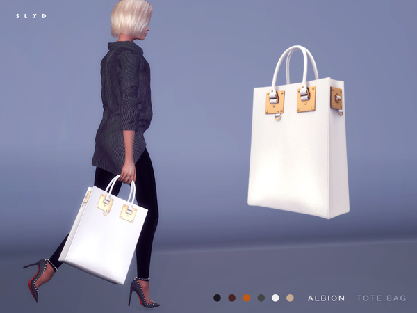 Sims 4 Albion Tote Bag by SLYD at TSR