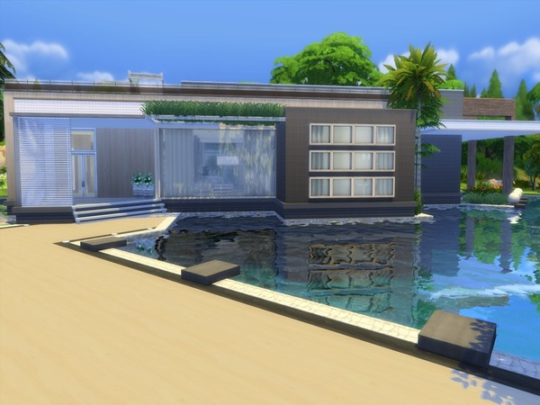 Modern Zirus house by Suzz86 at TSR image 7313 Sims 4 Updates