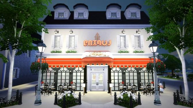 Sims 4 Le Grand Lama restaurant at Fezet's Corporation