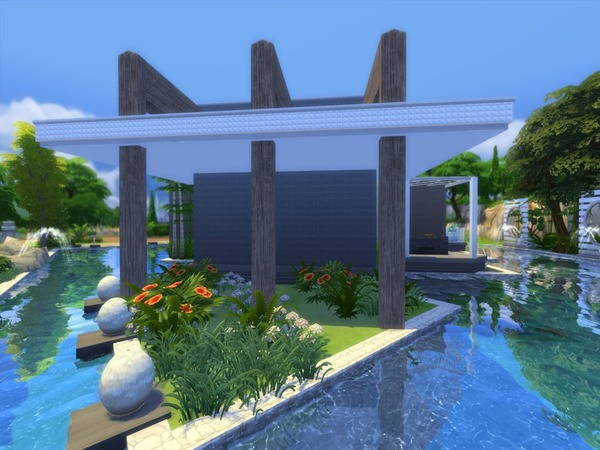 Modern Zirus house by Suzz86 at TSR image 7412 Sims 4 Updates