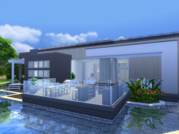 Sims 4 Modern Zirus house by Suzz86 at TSR