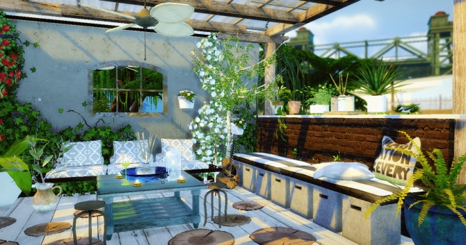 Terrasse 1 At Sims4 Luxury 187 Sims 4 Updates